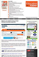 Education Today Home Page